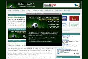 Gallen United Soccer Club Website