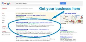 Organic or Natural Listing in Google
