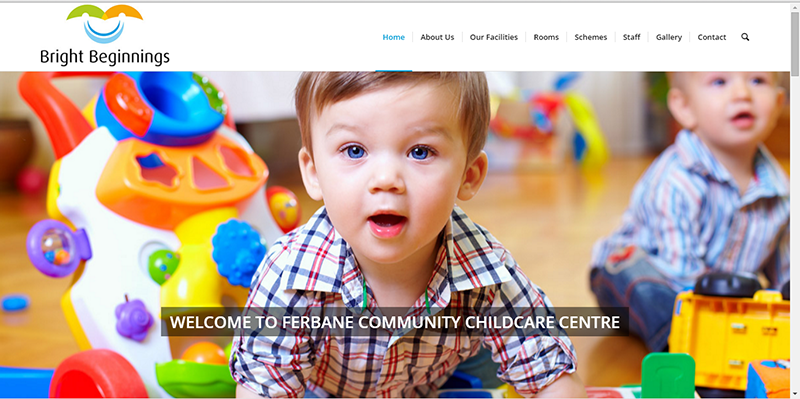 Creche Website for Ferbane