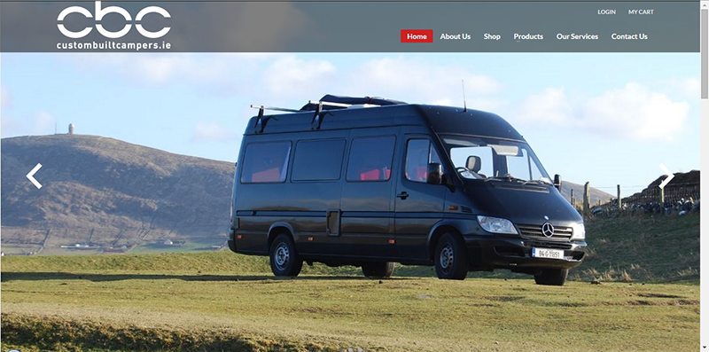 Camper Van Website