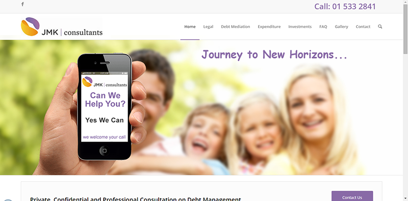 Debt Management Website