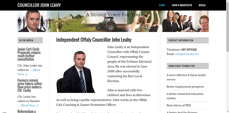 Councillor Website