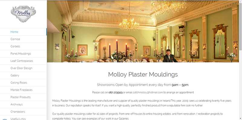 Molloy Precast Web Design